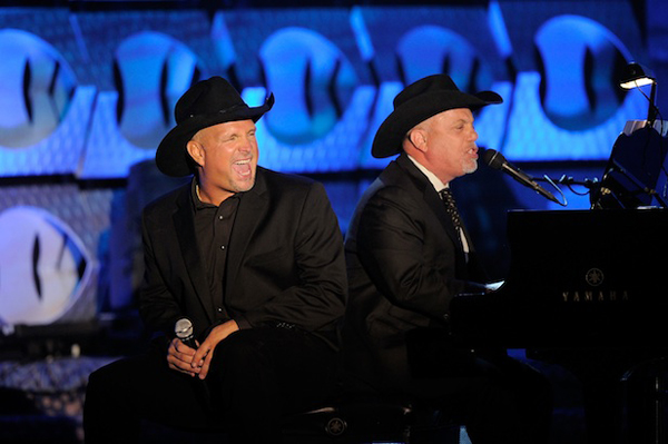 Billy Joel and Garth Brooks at Songwriters Hall of Fame