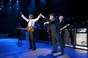 Sir Paul McCartney and Billy Joel at Yankee Stadium