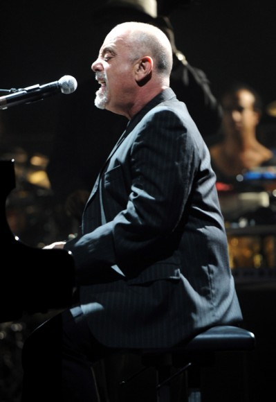 Billy Joel at Sting's birthday celebration
