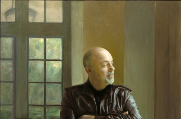 The Piano Man Is Honored At Steinway Hall, With A Portrait By Paul Wyse