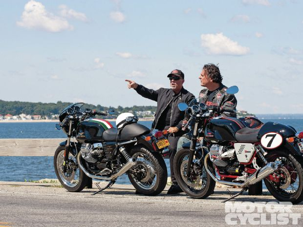 Billy Joel in Motorcyclist magazine