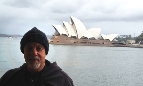 Billy Joel at Sydney Harbor 2013