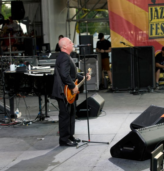 Billy Joel at Jazz Fest 2013