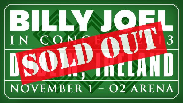 Billy Joel at The O2 Dublin