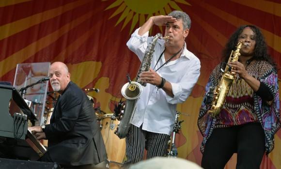 Billy Joel at Jazz Fest 2013