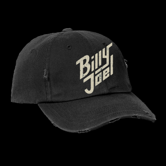 Billy Joel Bolt Logo Distressed Hat