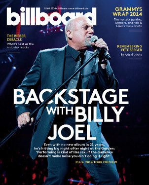 Billy Joel on Billboard cover