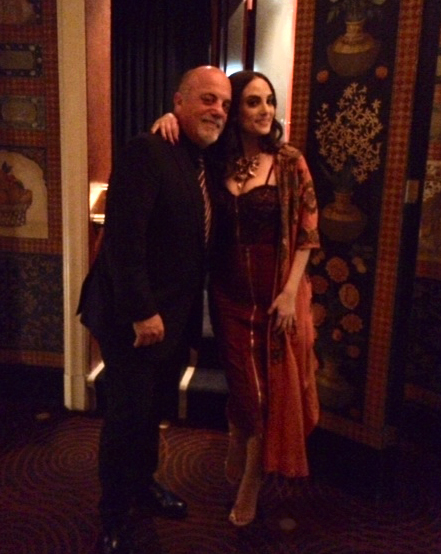 Billy Joel and Alexa Ray Joel at Cafe Carlyle