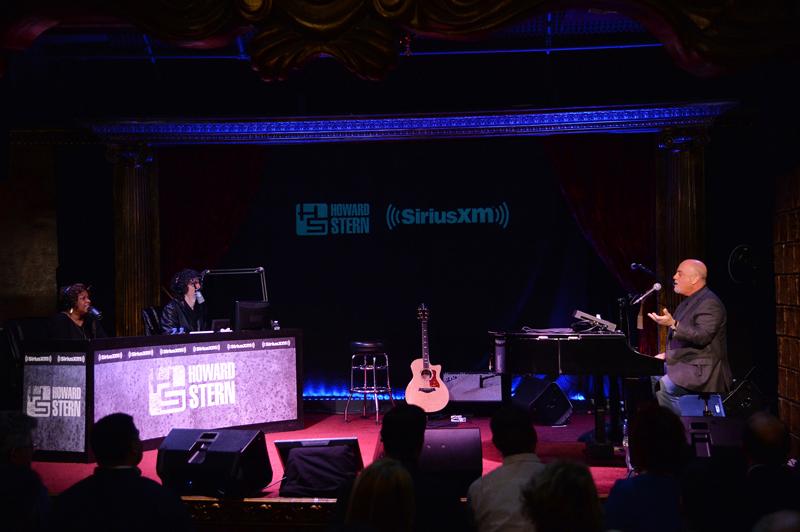 Howard Stern, Billy Joel and Robin Quivers at SiriusXM Town Hall April 28, 2014