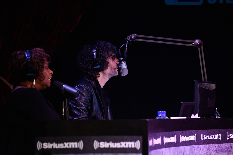 Howard Stern and Robin Quivers