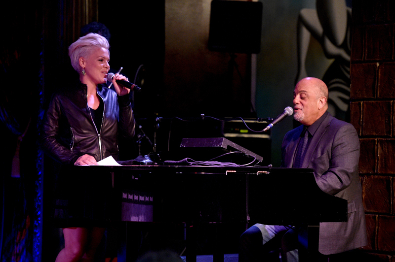 Billy Joel and P!nk