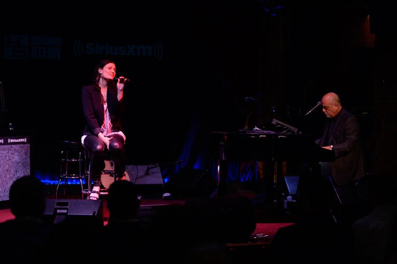 Billy Joel and Idina Menzel