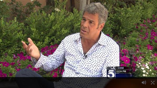 Mark Rivera interviewed by KTLA