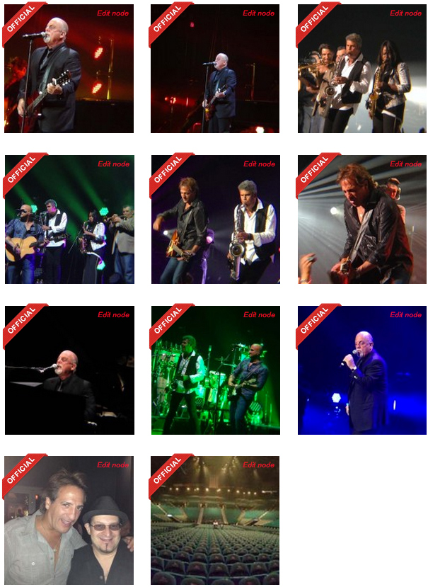 Billy Joel photos at MGM Grand Las Vegas on June 7, 2014