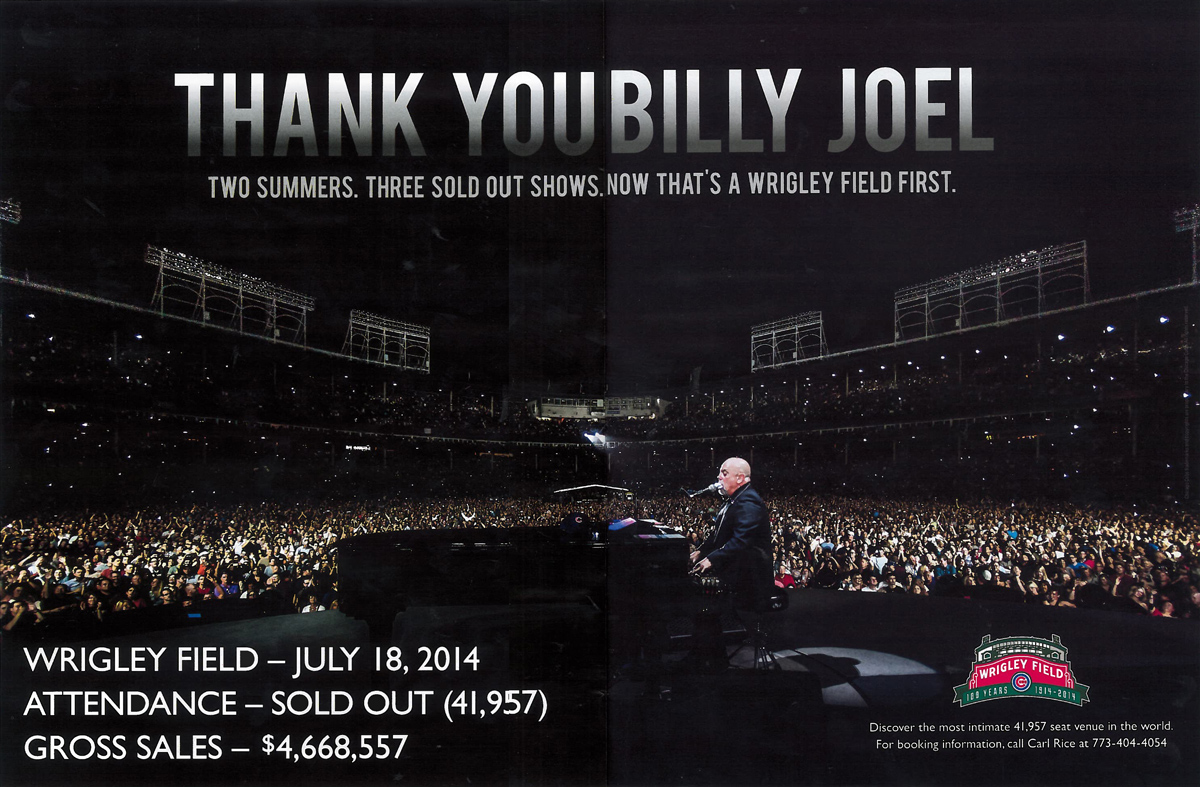 Thank You Billy Joel - A Wrigley First