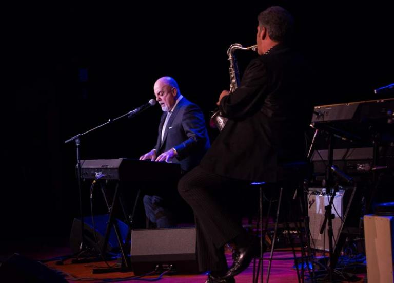 Billy Joel and Mark Rivera