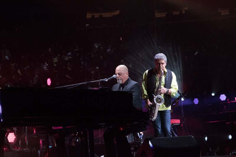 Billy Joel, Mark Rivera Madison Square Garden March 9, 2015