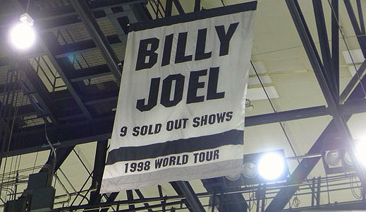 Billy Joel Nassau Coliseum 9 Sold Out Shows 1998 World Tour banner