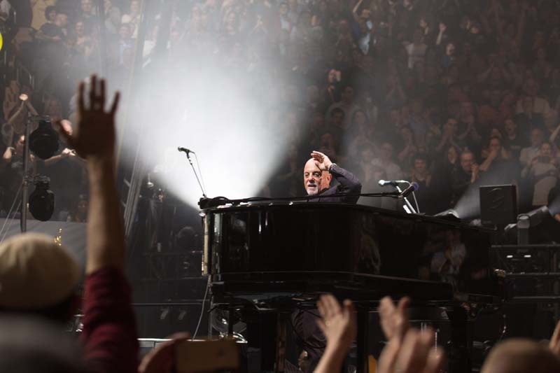 Billy Joel Madison Square Garden April 3, 2015