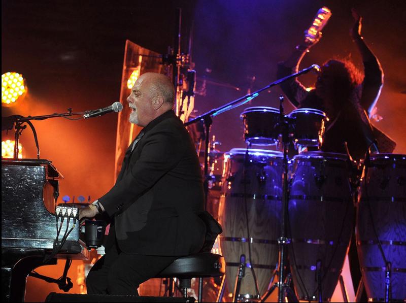 Billy Joel at Bonnaroo June 14, 2015