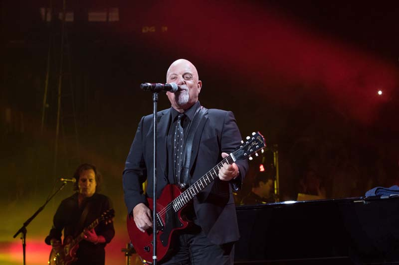 Billy Joel at Madison Square Garden in New York, NY, on June 20, 2015