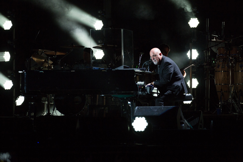 Billy Joel at Fenway Park in Boston, MA, on July 16, 2015