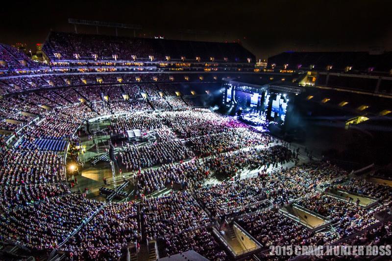 M&T Bank Stadium in Baltimore, MD, as Billy Joel performs July 25, 2015