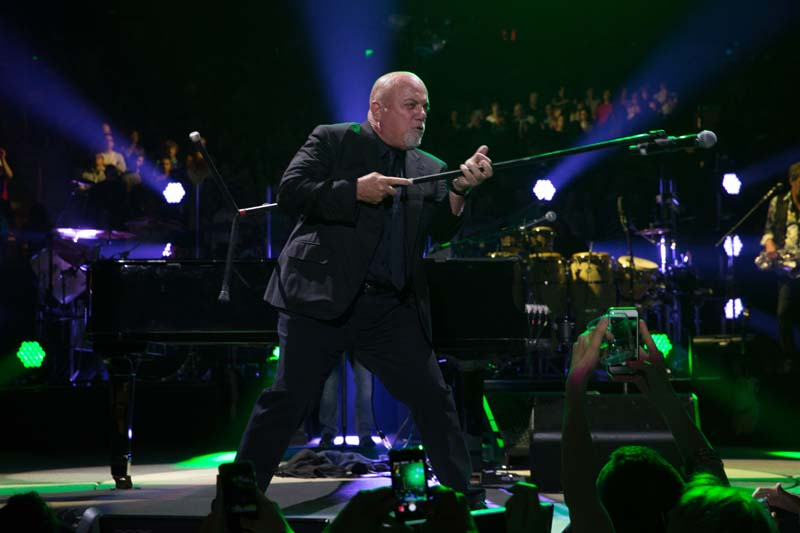 Billy Joel during 65th show at Madison Square Garden in New York, NY, on July 1, 2015
