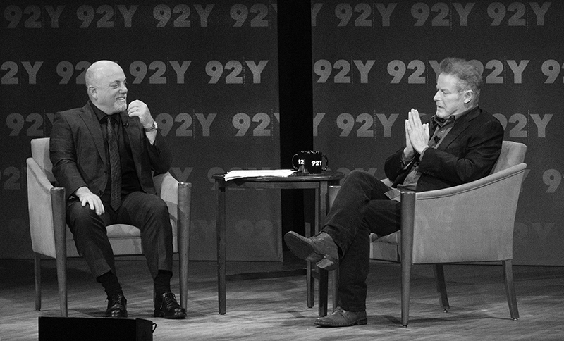 Don Henley In Conversation With Billy Joel at the 92Y in New York, NY, on September 20, 2015