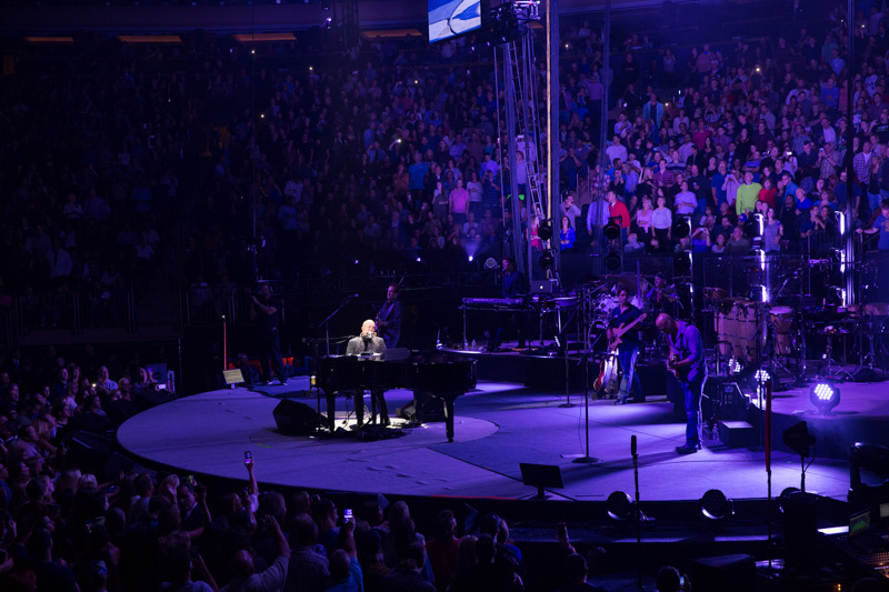 Exclusive Photos Billy Joel Madison Square Garden September 26