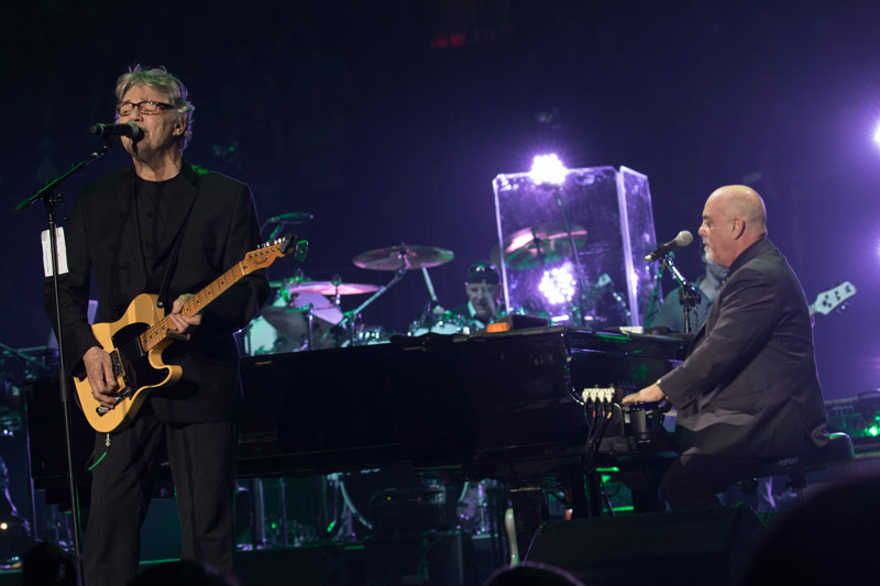 Steve Miller and Billy Joel at Madison Square Garden New York, NY October 21, 2015