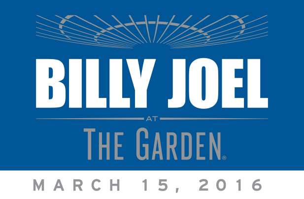 Billy Joel at Madison Square Garden March 15, 2016