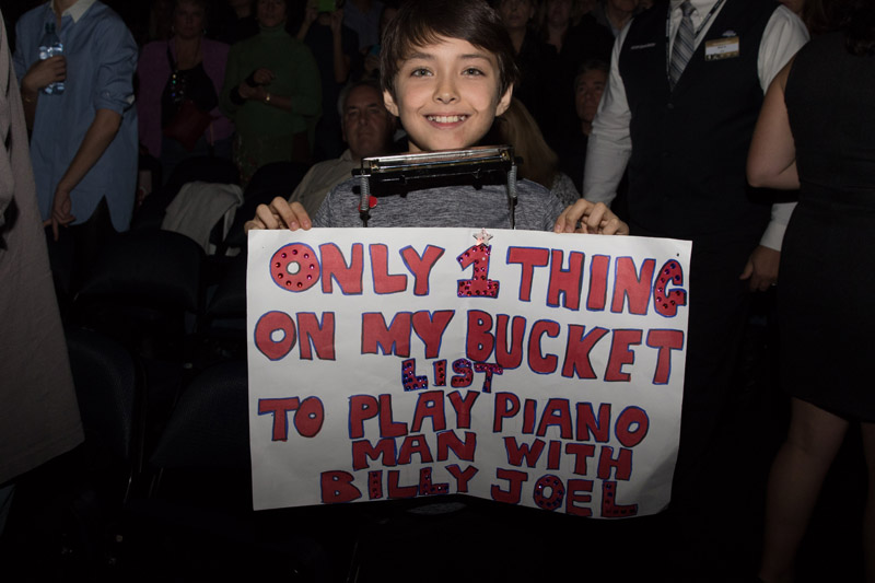 Fan bucket list for Billy Joel Madison Square Garden November 19, 2015