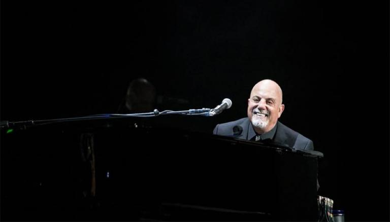 Billy Joel performs at Time Warner Cable Arena Charlotte, NC on December 5, 2015