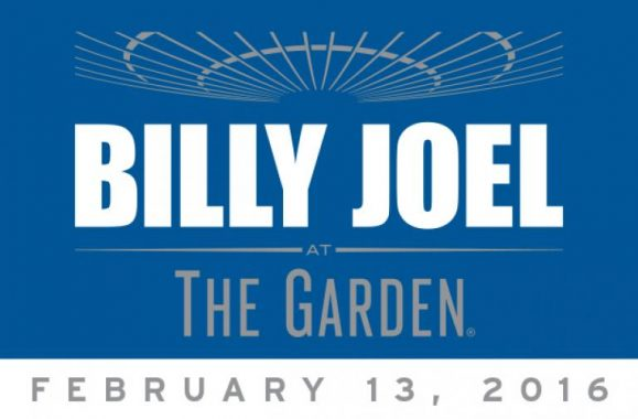 Billy Joel Adds MSG Concert February 13, 2016 Due To Overwhelming Demand