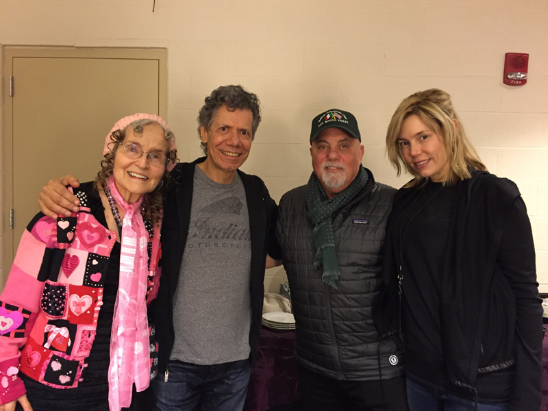 Billy Joel At Madison Square Garden New York, NY – November 19, 2015 (Photo 62)