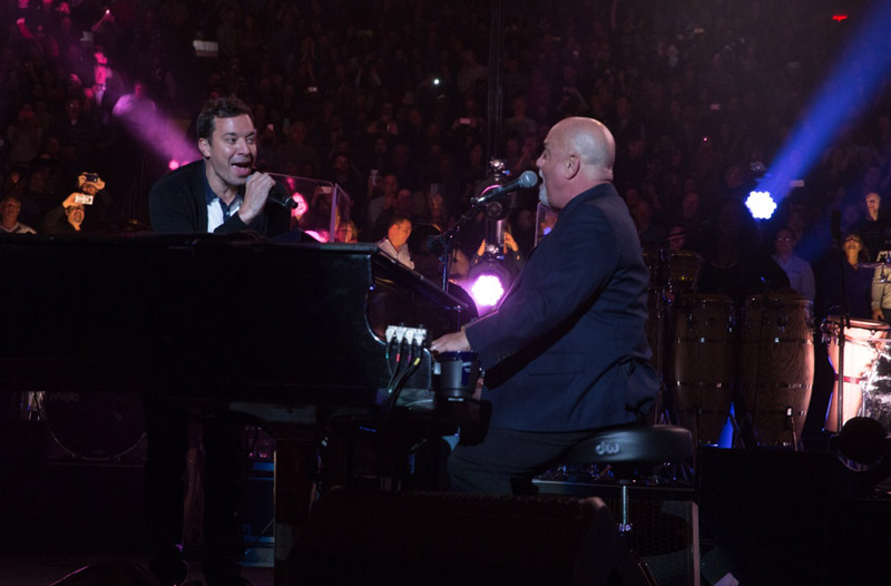 Watch Billy Joel Jimmy Fallon Start Me Up At MSG January 7