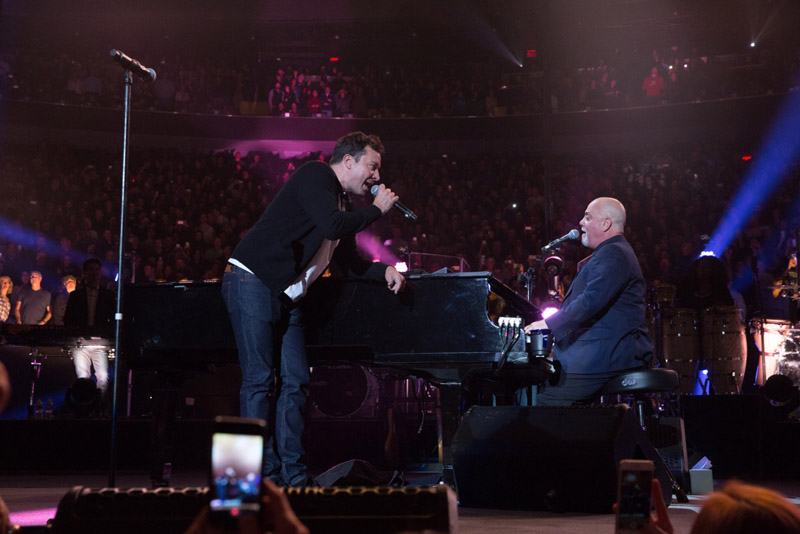 Watch Billy Joel & Jimmy Fallon 'Start Me Up' At MSG ... Billy Joel Piano Man Legacy Edition