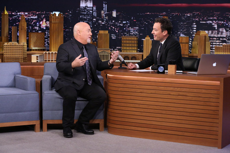Billy Joel and Jimmy Fallon interview on Tonight Show