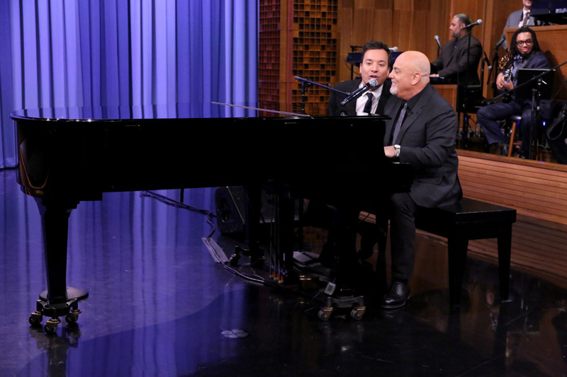 Billy Joel Scenes From An Italian Restaurant Tonight Show