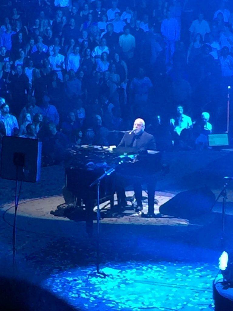 Billy sings at Penn State