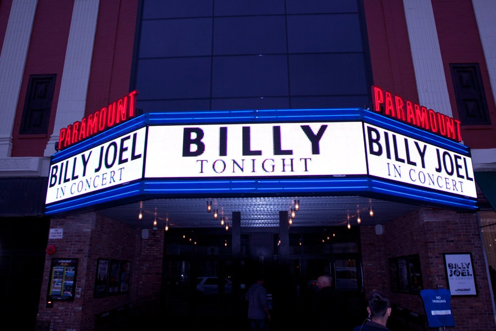 Billy at The Paramount