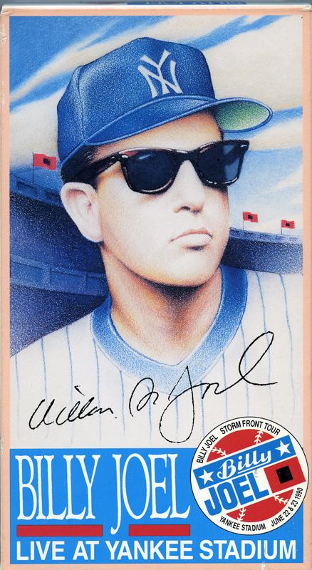 Billy Joel At Yankee Stadium June 22-23, 1990 (Photo 1)