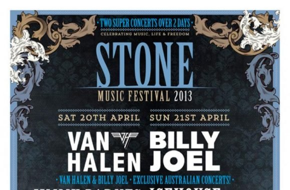 Billy Joel To Headline STONE Music Festival April 21st In Sydney, Australia!