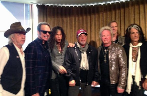 Billy Joel, Van Halen and Aerosmith Hit Australia