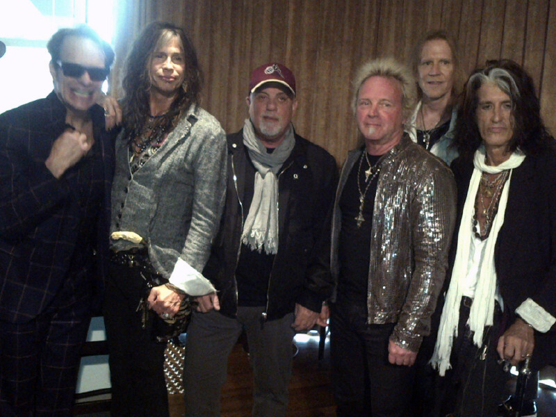 Billy Joel, David Lee Roth and Aerosmith at STONE Music Fest press conference April 17, 2013