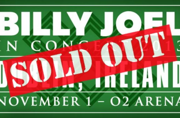 Billy Joel To Perform IN CONCERT At The O2, Dublin November 1st!