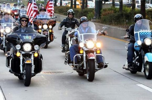 New York Firefighters, Gov. Cuomo, Billy Joel Take Memorial Ride On September 11