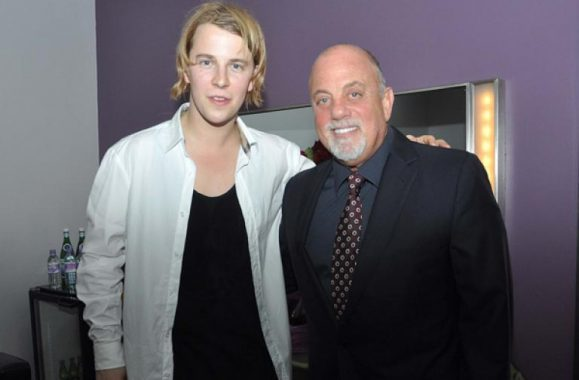 Billy Joel And Tom Odell Backstage At The O2 Dublin – Photo
