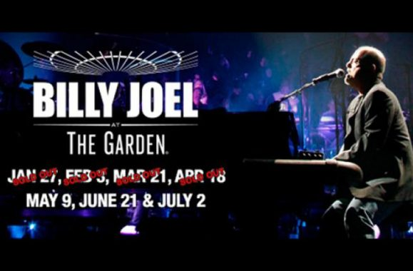 Billy Joel Adds Seventh Show At Madison Square Garden July 2 Due To Overwhelming Demand